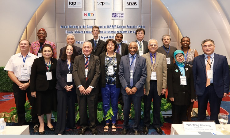 Annual Meeting of Global Council of IAP SEP held at Bangkok, Thailand. President ECOSF attended as the Member (Aug. 20-22, 2019)