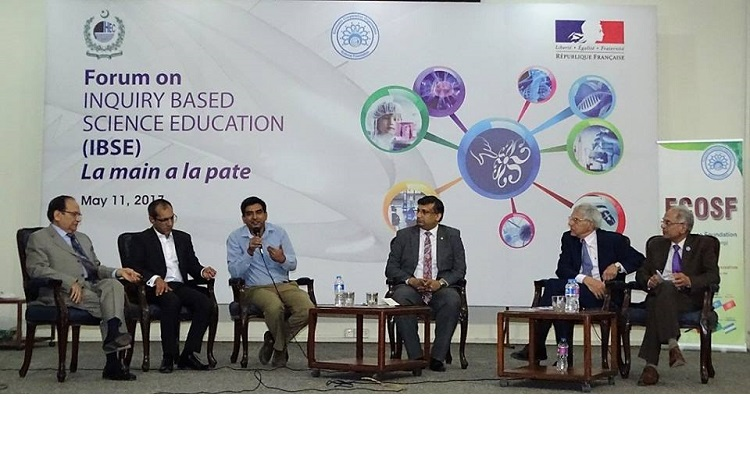 High Level Forum on Inquiry Based Science Education held at HEC, Islamabad (11 May 2017)