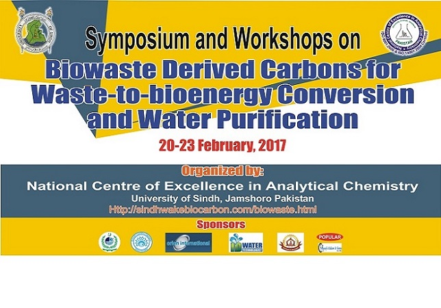 Symposium and Workshop on Biowaste Derived Carbons for Waste-to-bioenergy Conversion and Water Purification