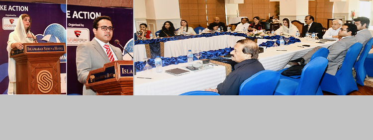 ECOSF deliberated on the role of Clean Energy Technologies to Mitigate the Impact of Climate Change at the 2nd Climate Change Summit in Islamabad -  (Sep 5, 2019)