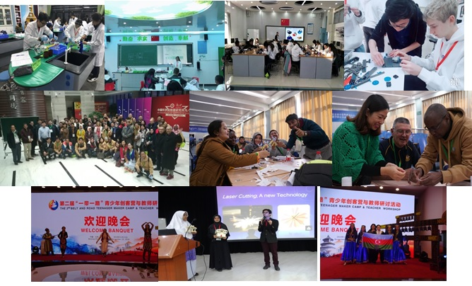 Some Glimpses of the activities done in 2nd OBOR Teenager Makers Camp and Teacher Workshop held at Beijing-China (15-21 Nov 2018)
