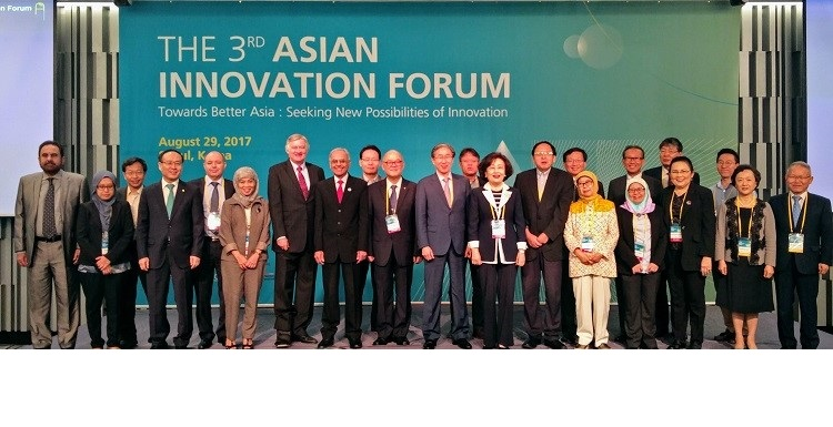 President ECOSF participated in the 3rd Asian Innovation Forum organized by KISTEP in partnership with ECOSF in Seoul, South Korea on August 29, 2017