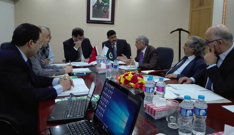 Start Up Meeting for Reverse Linkage Project between Pakistan Meteorological Department and MRC, Turkey on Seismological Research under the umbrella of IDB and ECOSF (10 Nov. 2016)